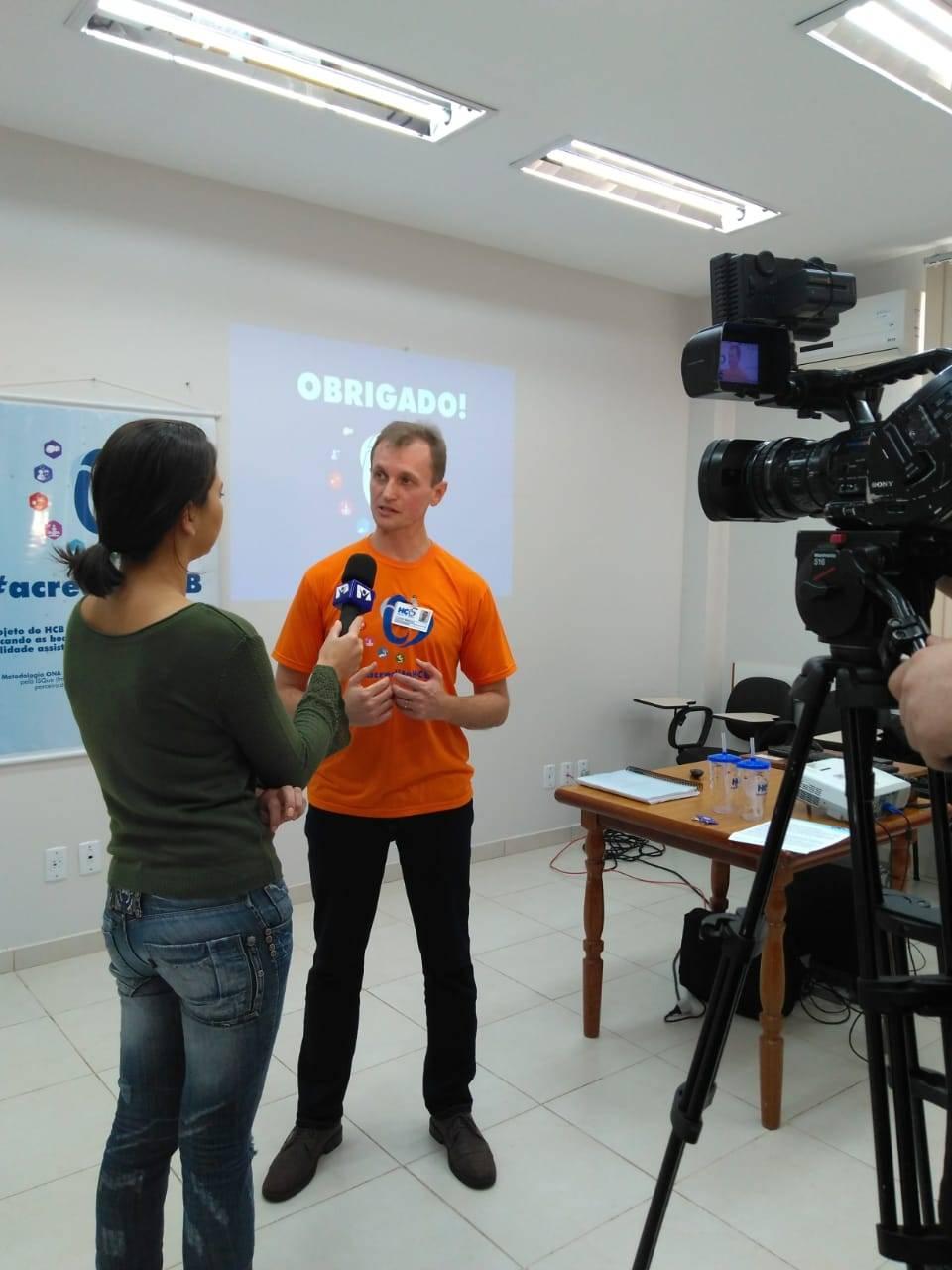 Hospital de Caridade e Beneficência apresenta para a imprensa  o projeto deacreditação hospitalar.