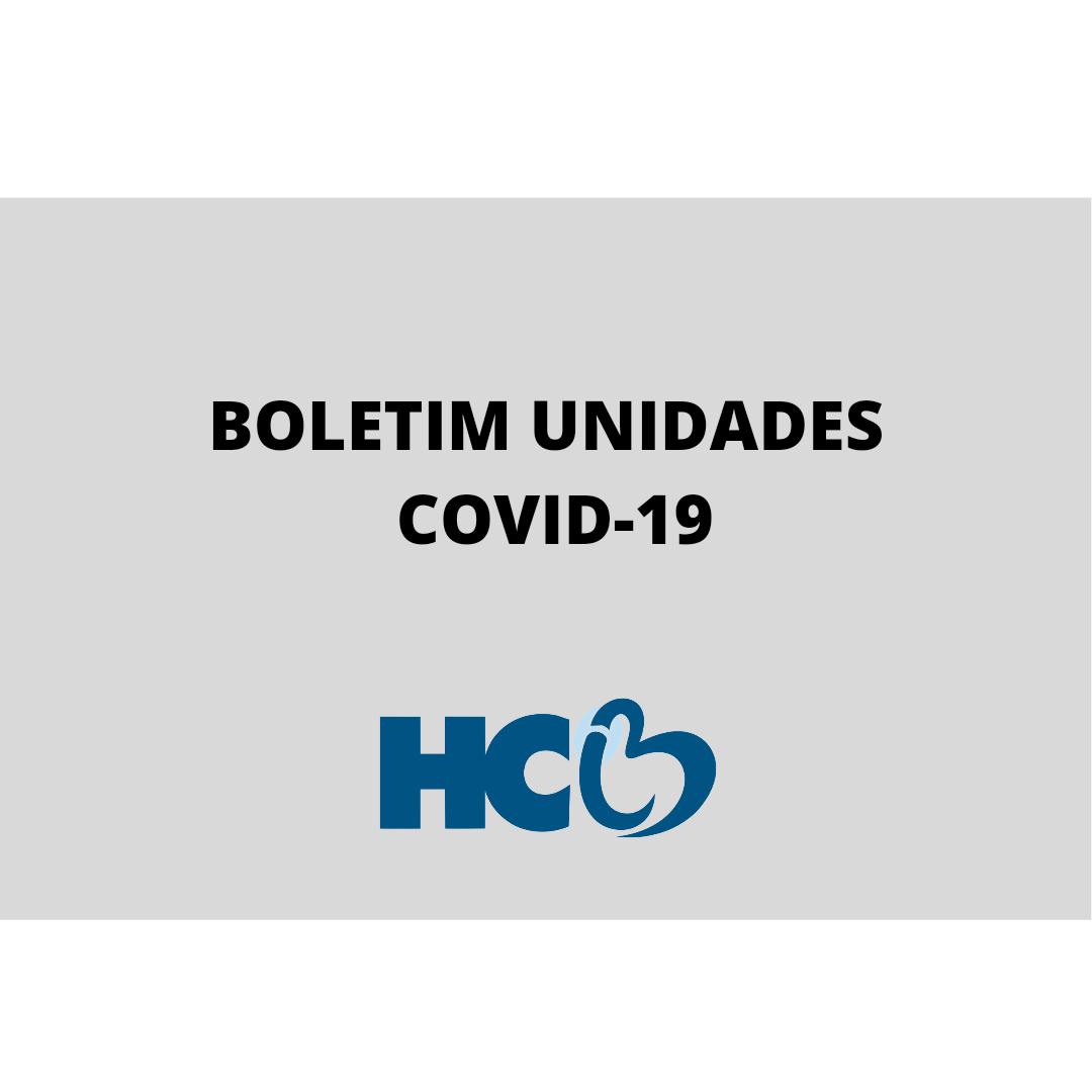 Boletim Diário Covid - HCB