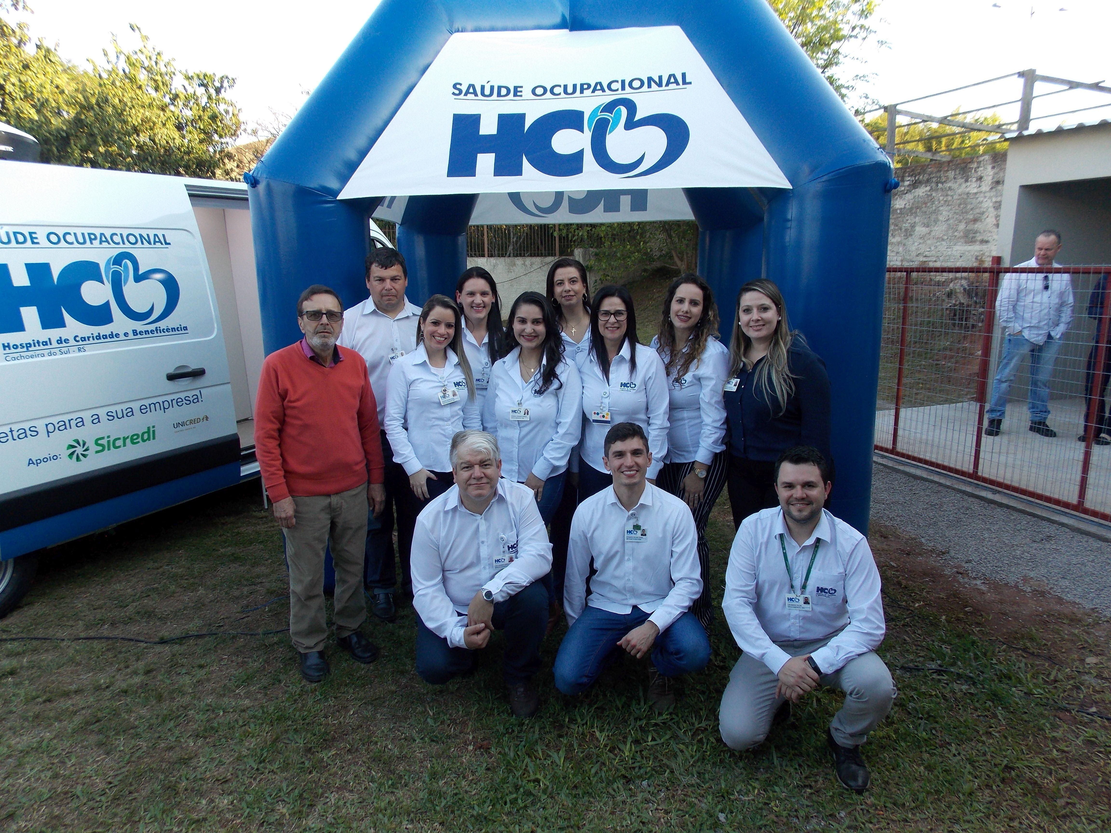 HCB Saúde Ocupacional oferece serviços completos para empresas de Cachoeira do Sul