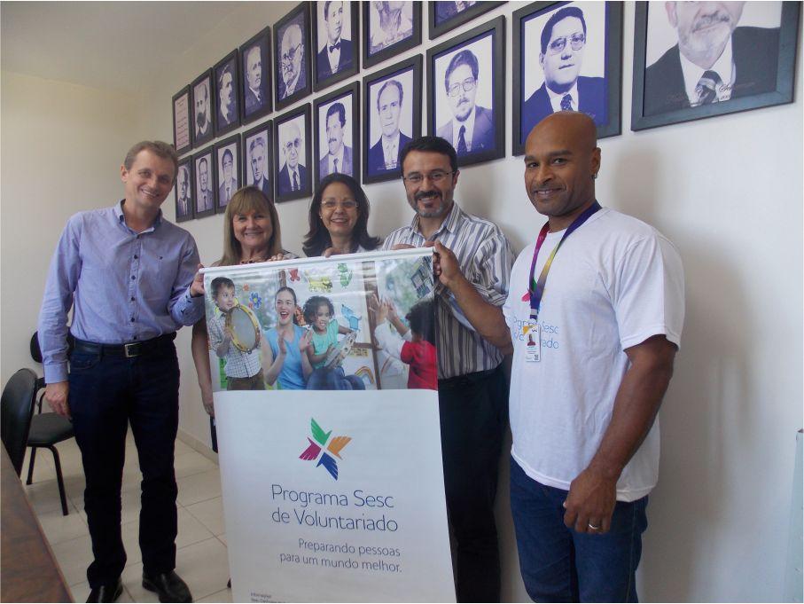 HCB assina parceria com o Programa SESC de Voluntariado