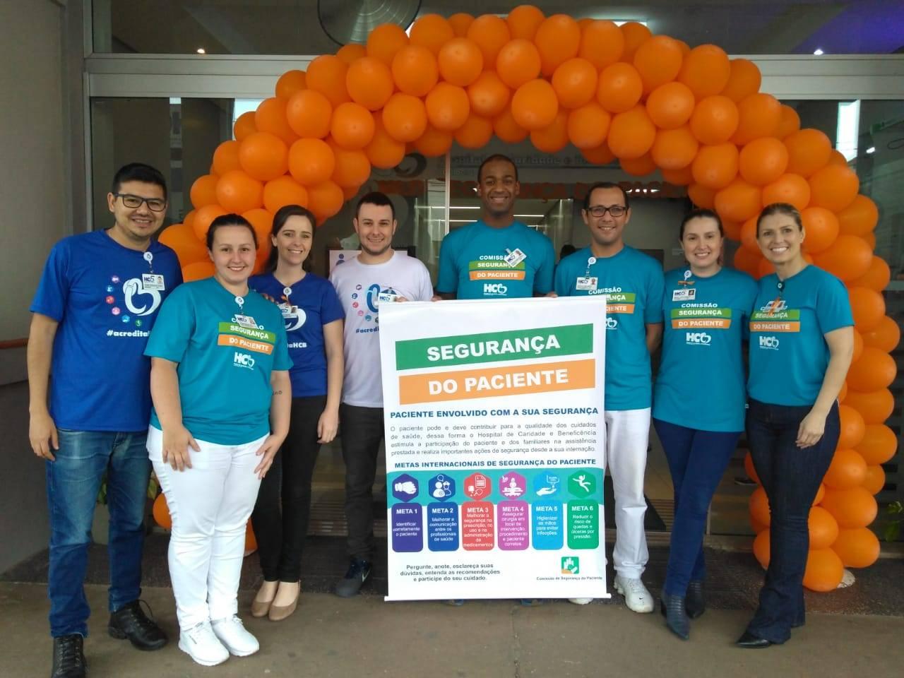 HCB realiza ações pelo Dia Mundial da Segurança do Paciente